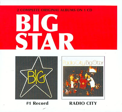 #1 RECORD/RADIO CITY BY BIG STAR (CD)